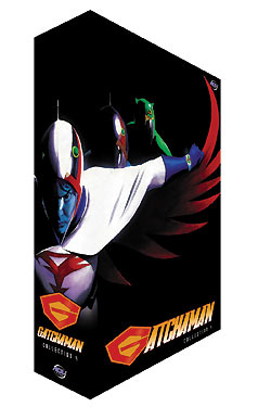 Gatchaman Collector's Edition Box 4 DVD 702727134920