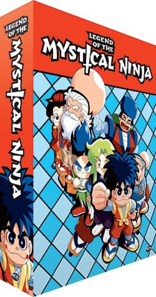 Legend of the Mystical Ninja Complete Collection DVD