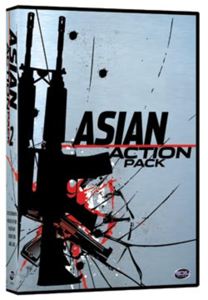 Asian Action Pack 2 DVD