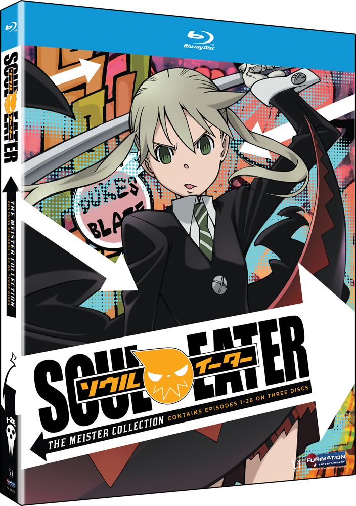 Soul Eater Part 1-2 (Meister Collection) Blu-ray 704400011771