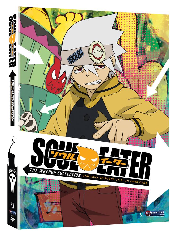 Soul Eater Part 3-4 DVD 704400011788