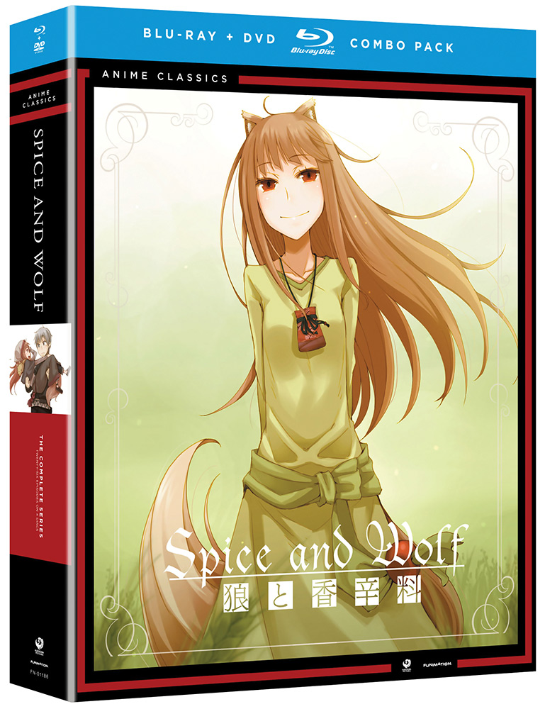 Spice and Wolf Complete Series Blu-ray/DVD