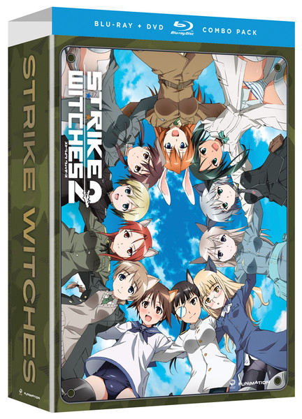 Strike Witches 2 Limited Edition Blu-ray/DVD + Artbox
