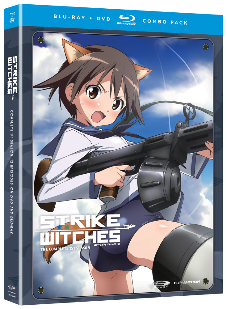 Strike Witches Season 1 Blu-ray/DVD 704400011948