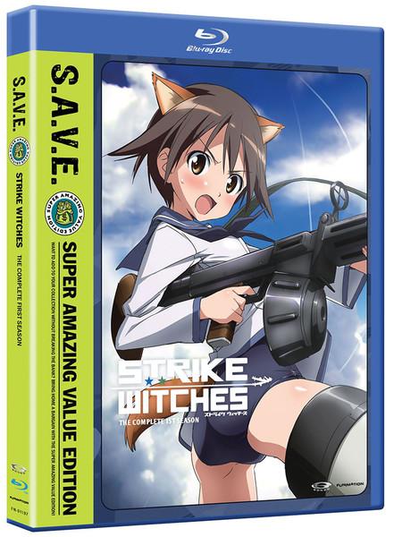 Strike Witches Season 1 Blu-ray/DVD SAVE Edition