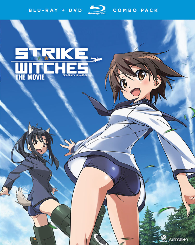 Strike Witches The Movie Blu-ray/DVD 704400011993
