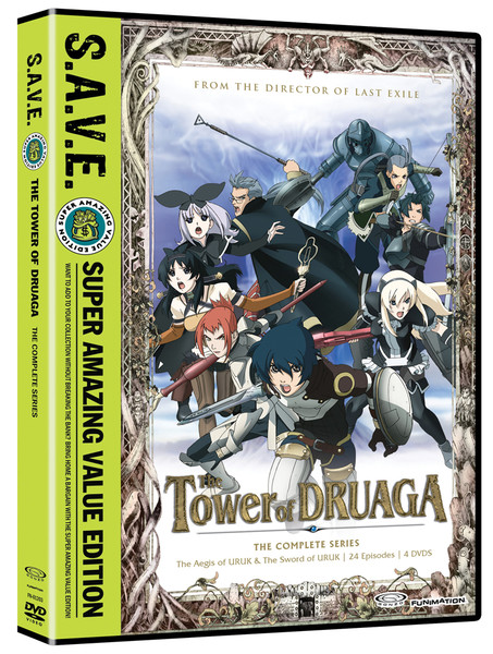 Tower of Druaga Complete Series DVD SAVE Edition