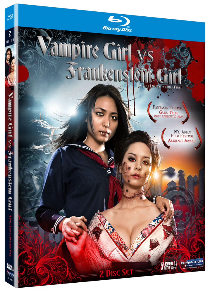 Vampire Girl vs Frankenstein Girl Blu-ray 704400012372