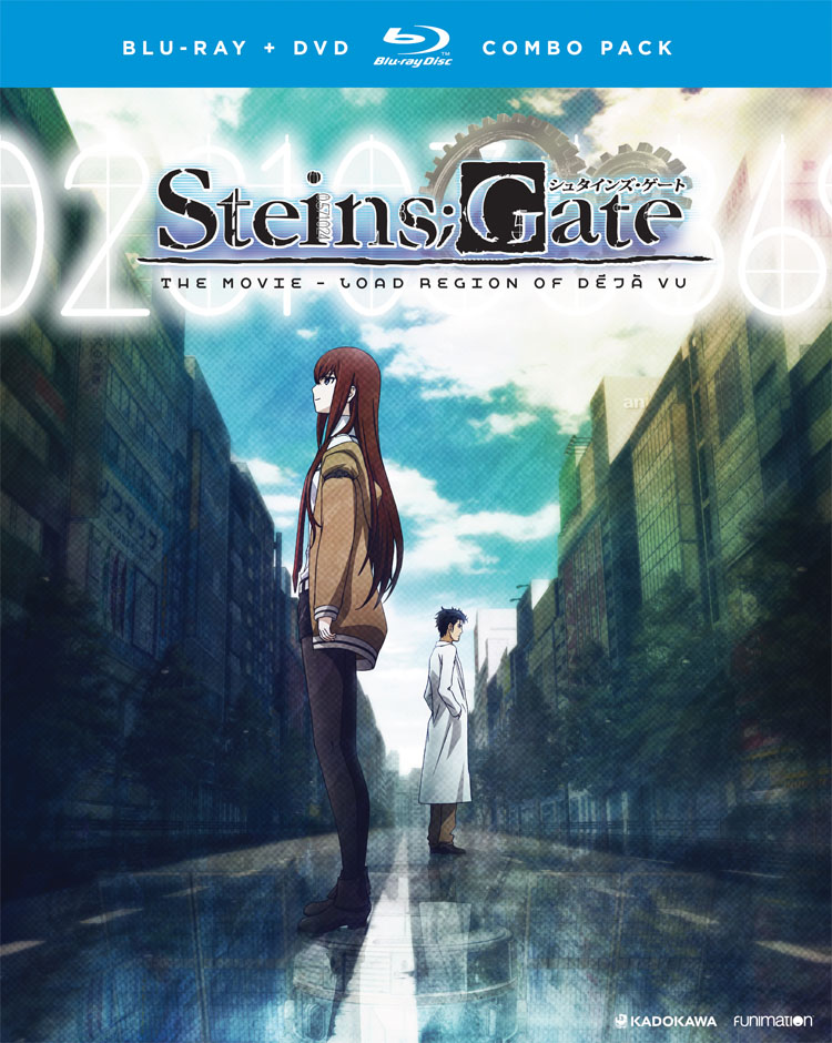 Steins;Gate The Movie Load Region of deja vu Blu-ray/DVD 704400012419