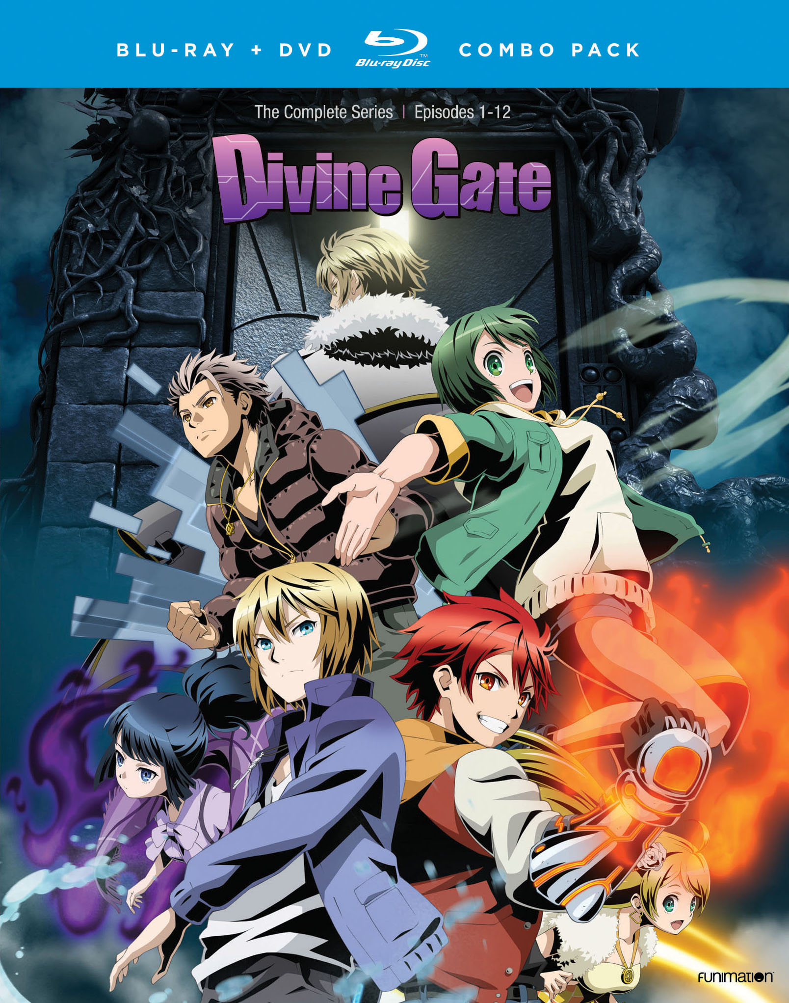 Divine Gate Complete Series Blu-ray/DVD 704400012426