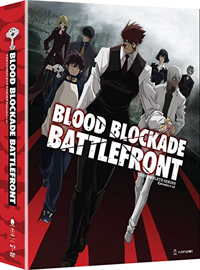 Blood Blockade Battlefront  Limited Edition Blu-ray/DVD 704400012952