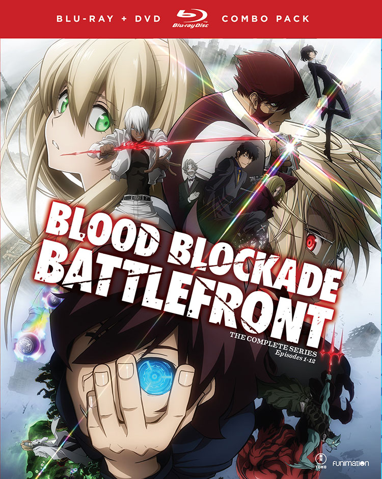 Blood Blockade Battlefront Blu-ray/DVD 704400012969
