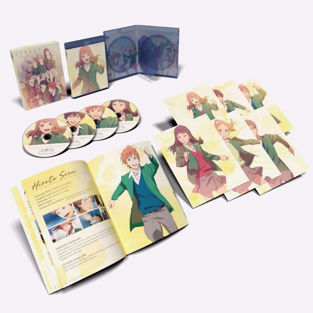 Orange Limited Edition Blu-ray/DVD