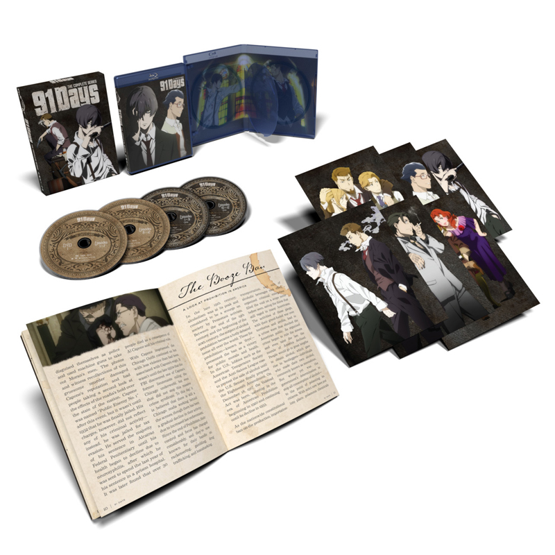 91 Days Limited Edition Blu-ray/DVD