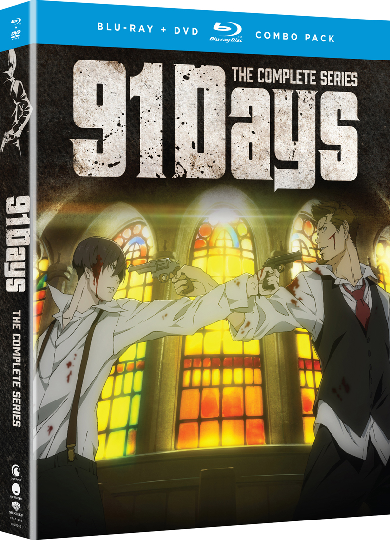 91 Days Blu-ray/DVD 704400013188