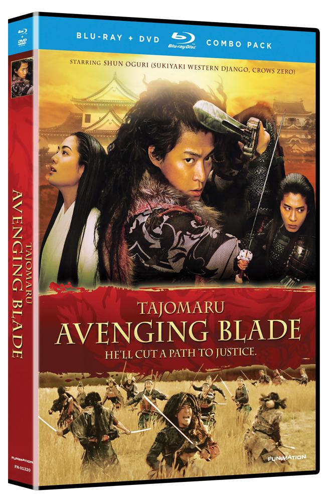 Tajomaru: Avenging Blade Blu-ray/DVD 704400013201