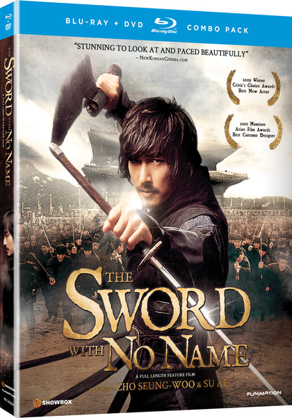 The Sword With No Name Blu-ray/DVD