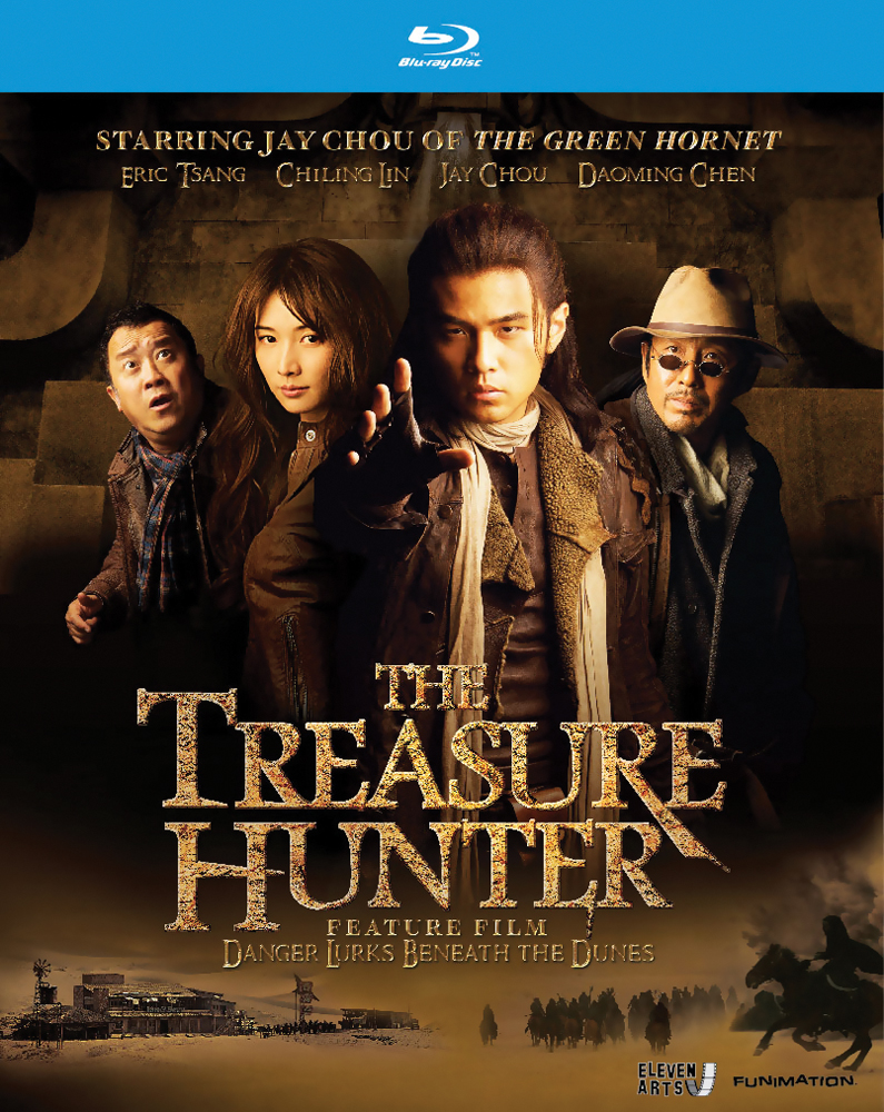 The Treasure Hunter: Danger Lurks Beneath the Dunes Blu-ray 704400013294