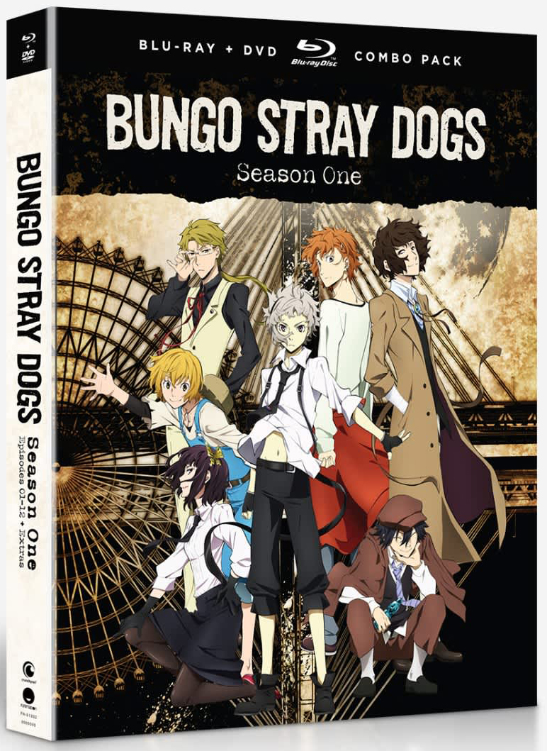 Bungo Stray Dogs Season 1 Blu-ray/DVD 704400013324