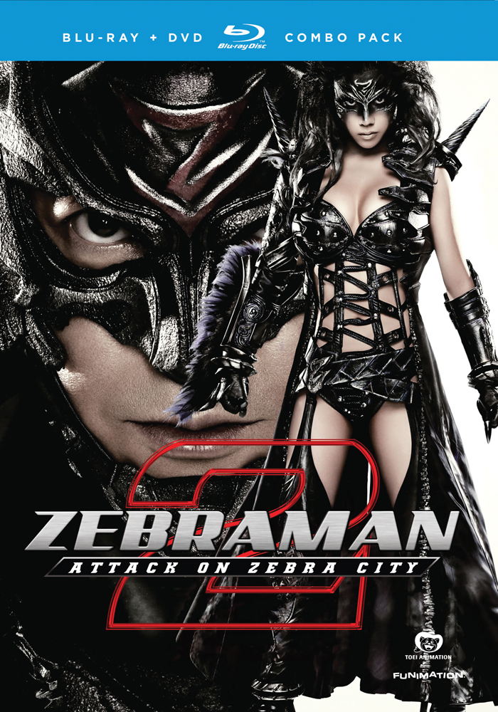 Zebraman 2 Attack on Zebra City Blu-ray/DVD 704400013348