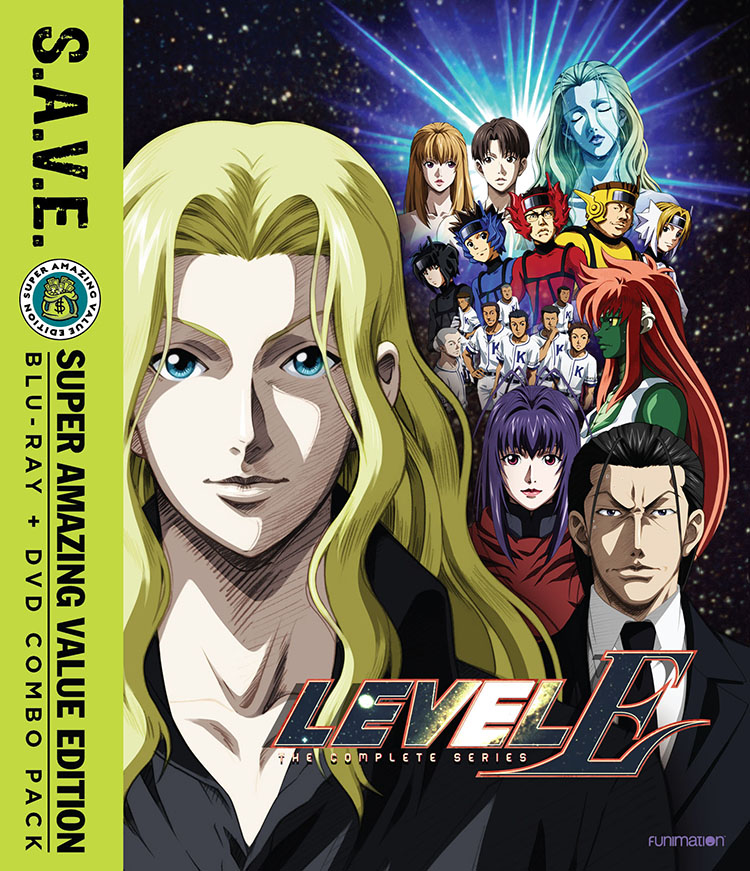 Level E Blu-ray/DVD SAVE Edition 704400013386