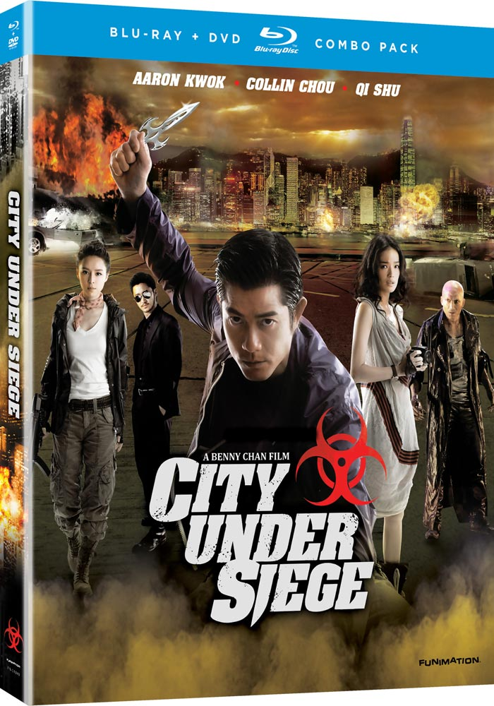 City Under Siege Blu-ray/DVD LiveAction 704400013409
