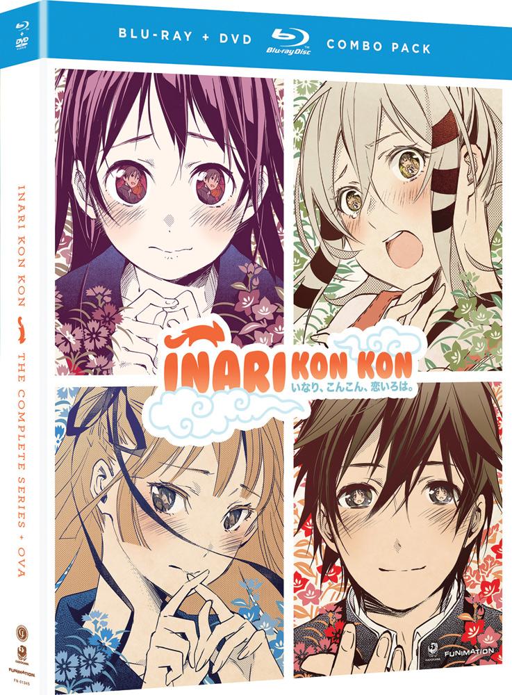 Inari Kon Kon Complete Series + OVA Blu-ray/DVD 704400013454