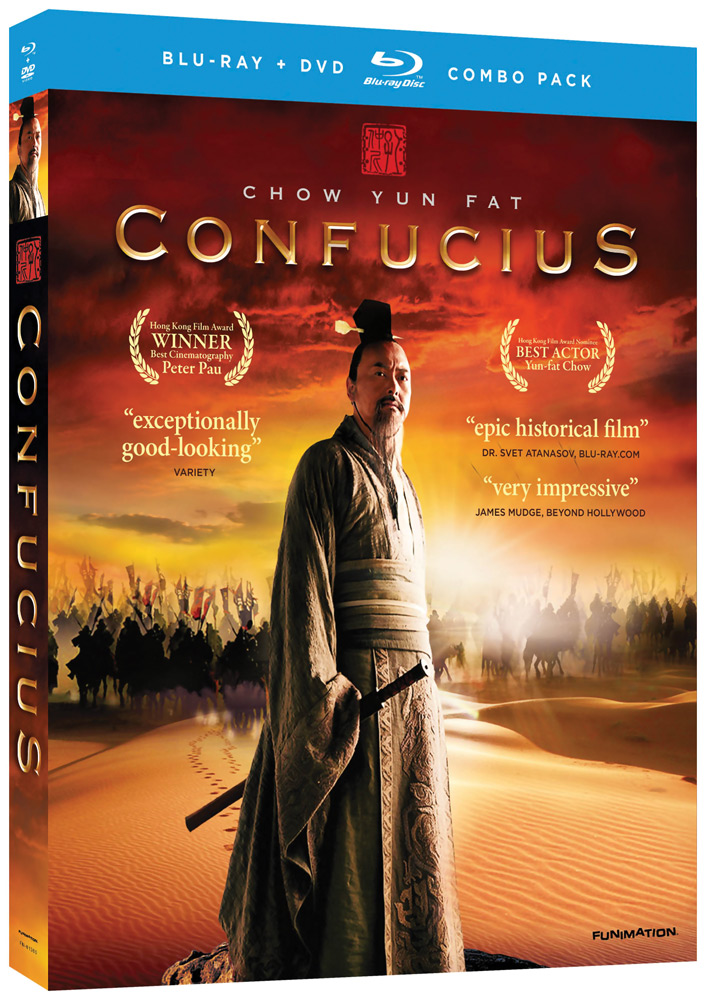 Confucius Blu-ray/DVD LiveAction 704400013607