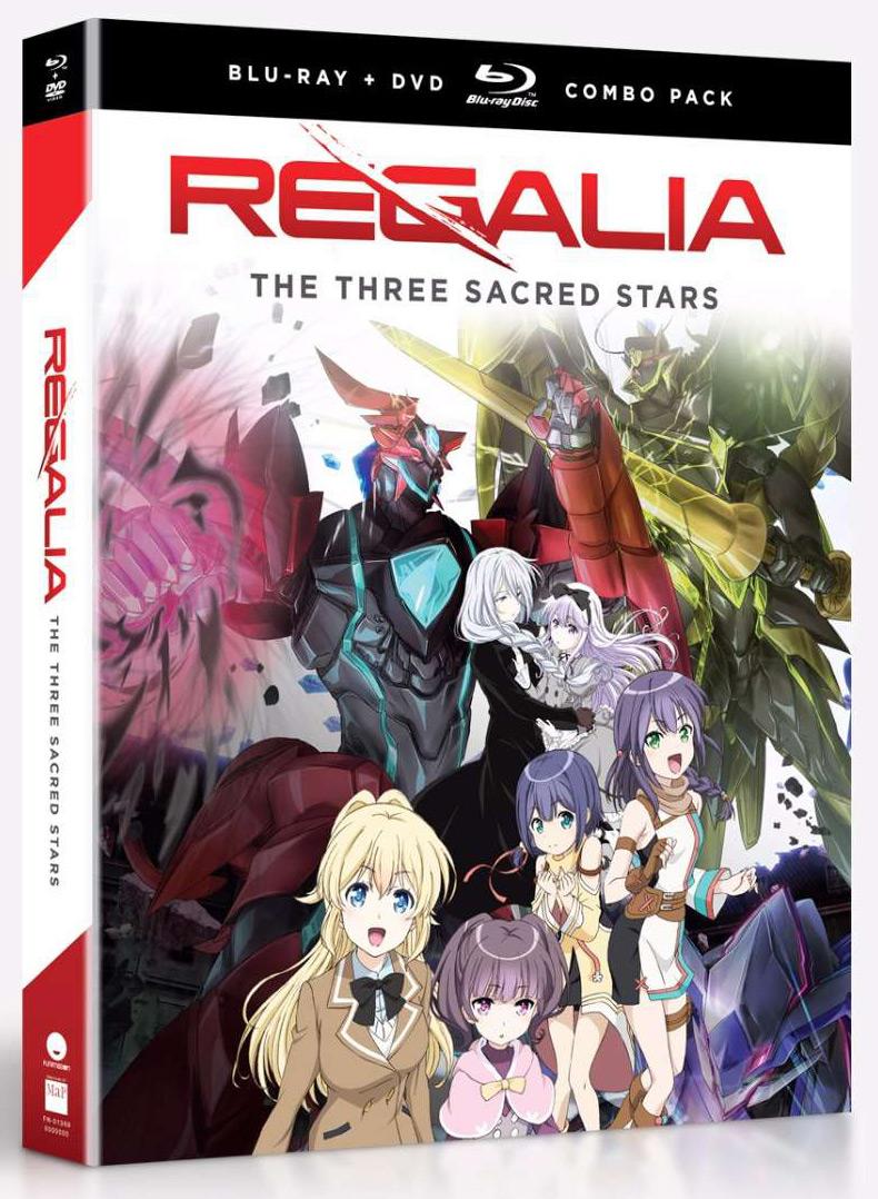 Regalia The Three Sacred Stars Blu-ray/DVD 704400013690
