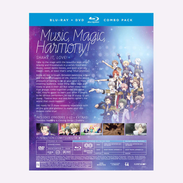 Tsukiuta The Animation Blu-ray/DVD