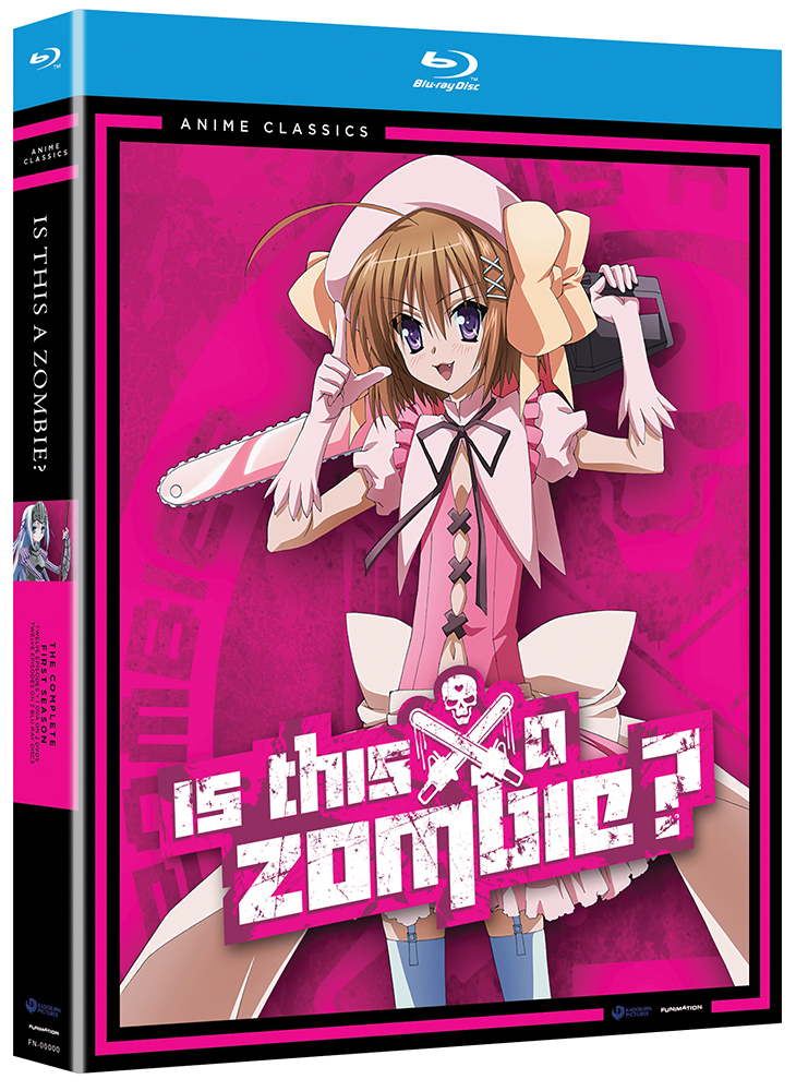 Is This A Zombie? Blu-ray/DVD Anime Classics 704400013751