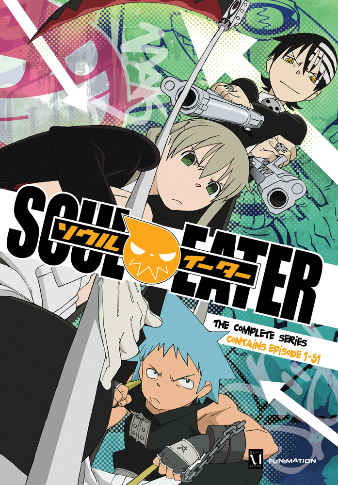 Soul Eater Complete Series DVD 704400013805