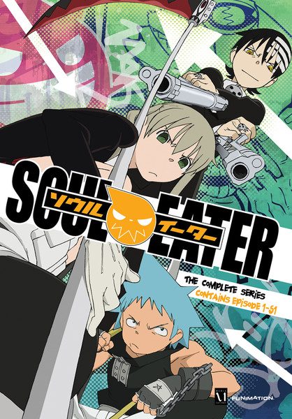 Soul Eater DVD Complete Series