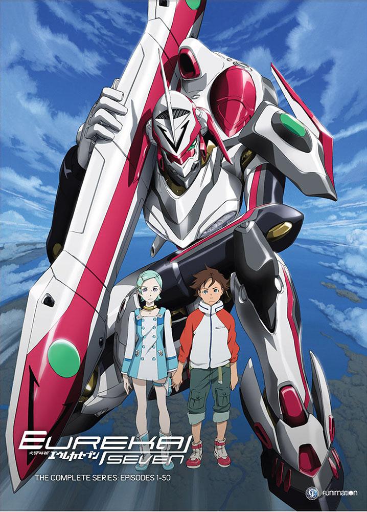 Eureka Seven Complete Series DVD 704400013867