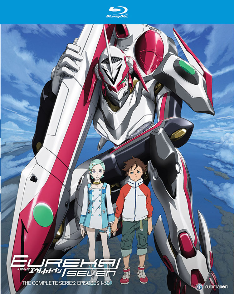 Eureka Seven Complete Series Blu-ray 704400013874