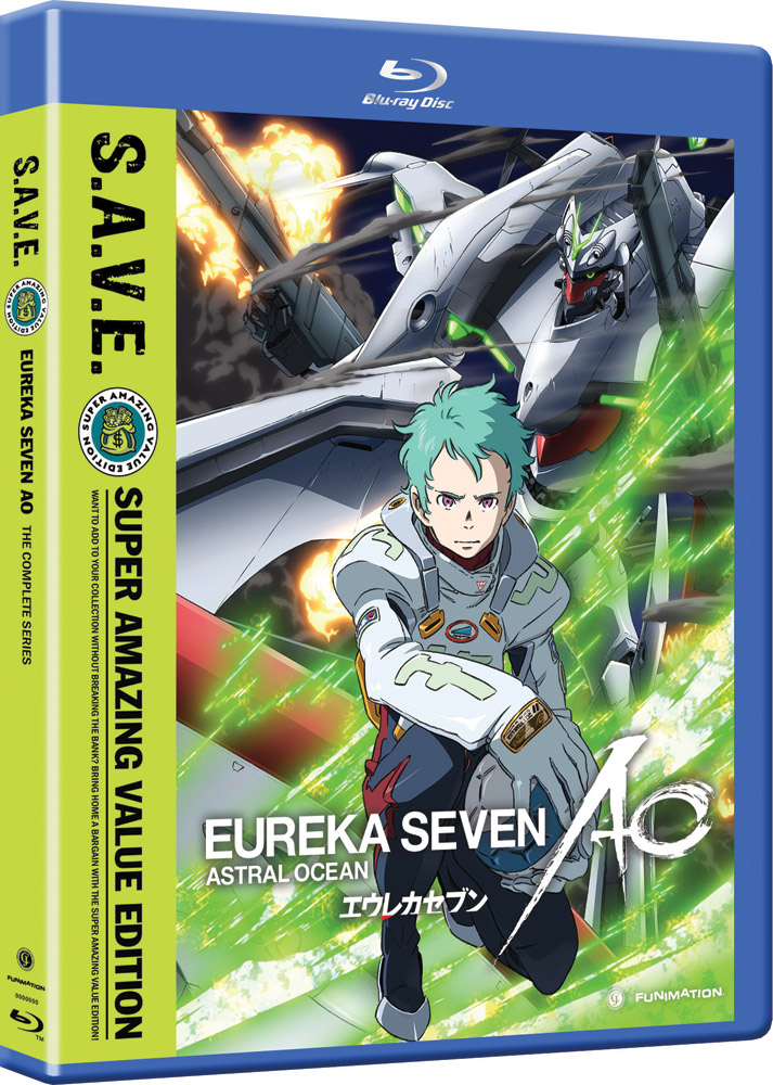 Eureka Seven AO Complete Series Blu-ray SAVE Edition 704400013881
