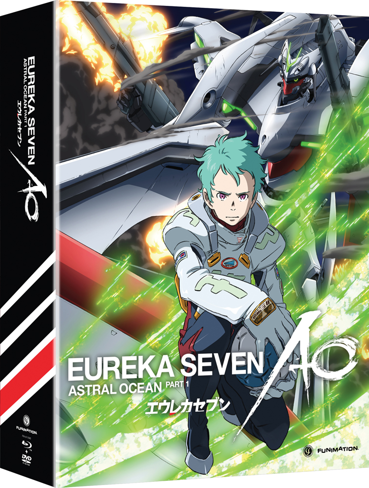 Eureka Seven AO (Astral Ocean) Part 1 Limited Edition Blu-ray/DVD 704400013904