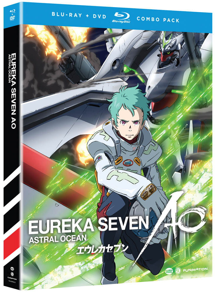 Eureka Seven AO (Astral Ocean) Part 1 Blu-ray/DVD 704400013911