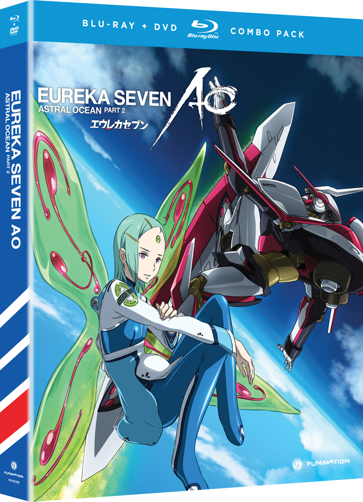 Eureka Seven AO (Astral Ocean) Part 2 Blu-ray/DVD 704400013928