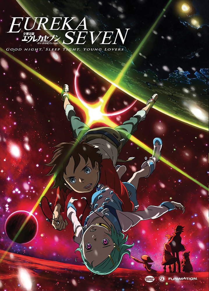 Eureka Seven Good Night Sleep Tight Young Lovers DVD 704400013966