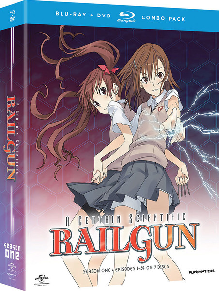 A Certain Scientific Railgun Season 1 Blu-ray/DVD