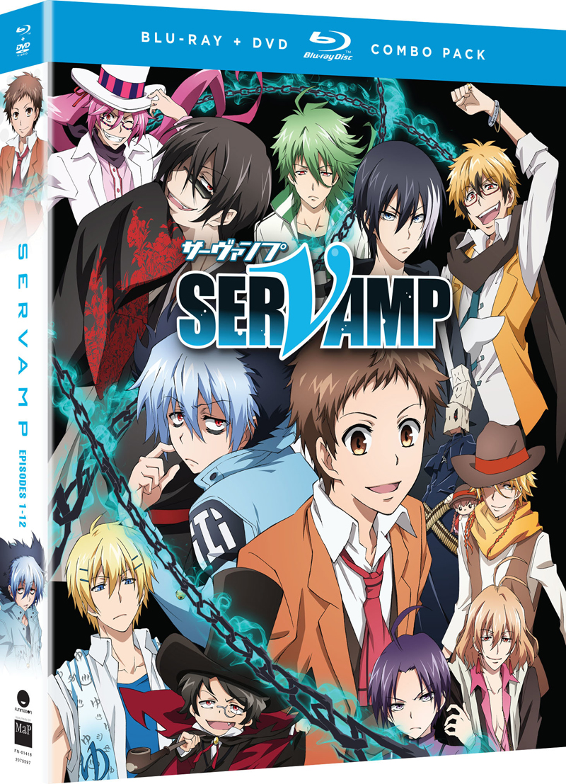 Servamp Season 1 Blu-Ray/DVD 704400014185