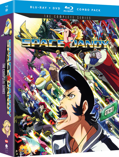 Space Dandy Complete Series Blu-Ray/DVD