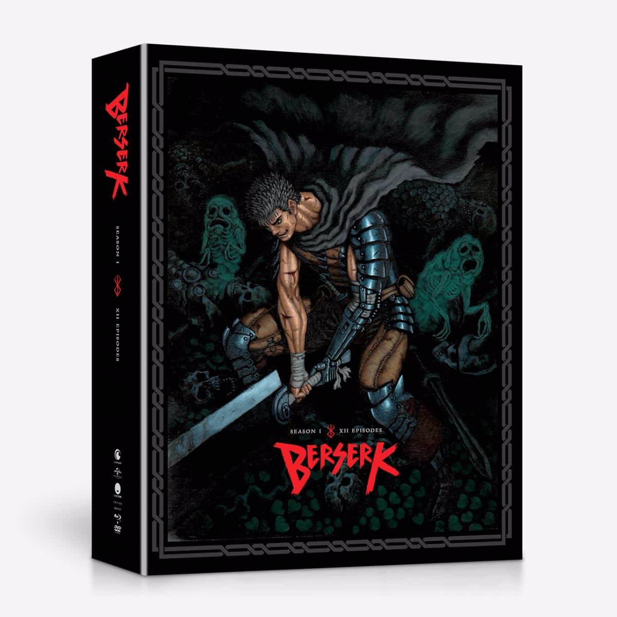 Berserk Season 1 Limited Edition Blu-ray/DVD 704400014291