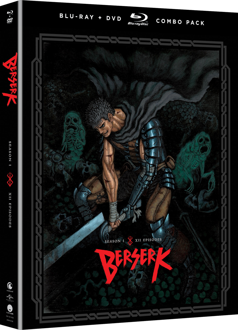 Berserk Season 1 Blu-ray/DVD 704400014307