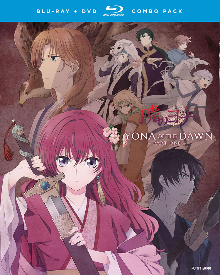 Yona of the Dawn Part 1 Blu-ray/DVD 704400014321