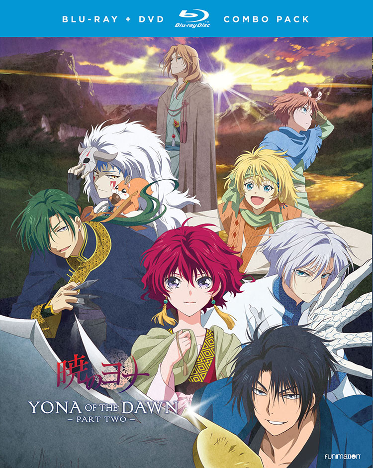 Yona of the Dawn Part 2 Blu-ray/DVD 704400014338