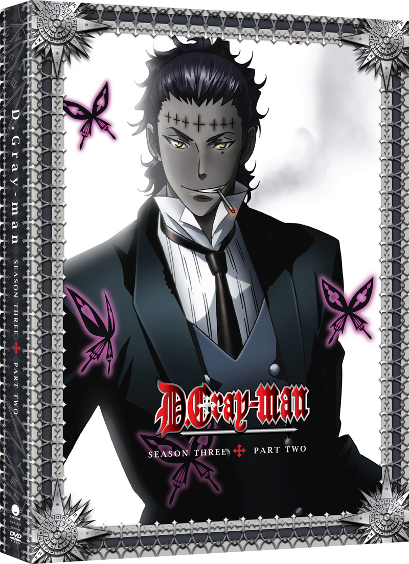 D. Gray-Man Season 3 Part 2 DVD 704400014352