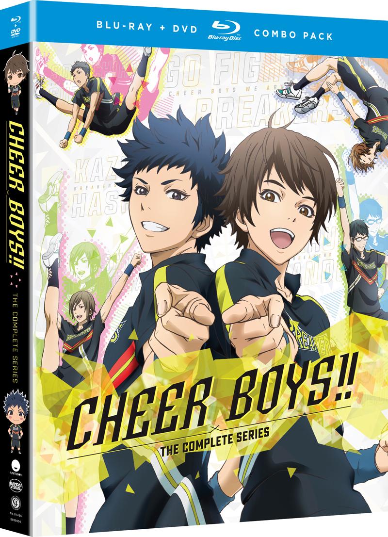 Cheer Boys!! Blu-ray/DVD 704400014369