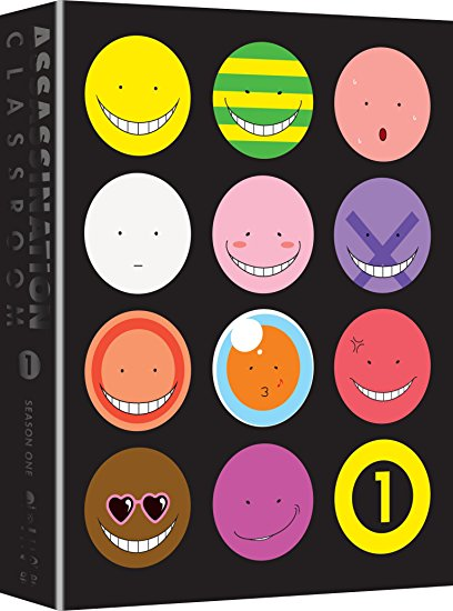 Assassination Classroom Season 1 Part 1 Limited Edition Blu-ray/DVD 704400014406